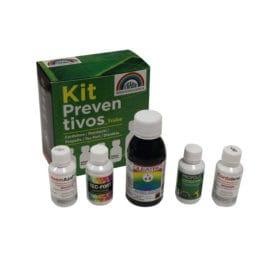 Insecticida y fungicida Kit preventivos